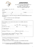 contrat adoption